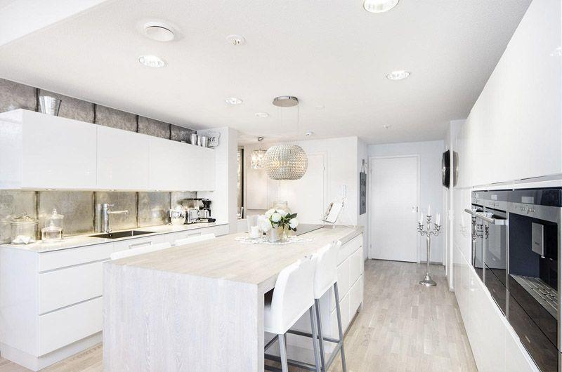 moderni valkoinen koti keittio saareke jpg 800×530