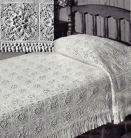 Thread Crochet Bedspread Patterns Crochet Patterns Projects To