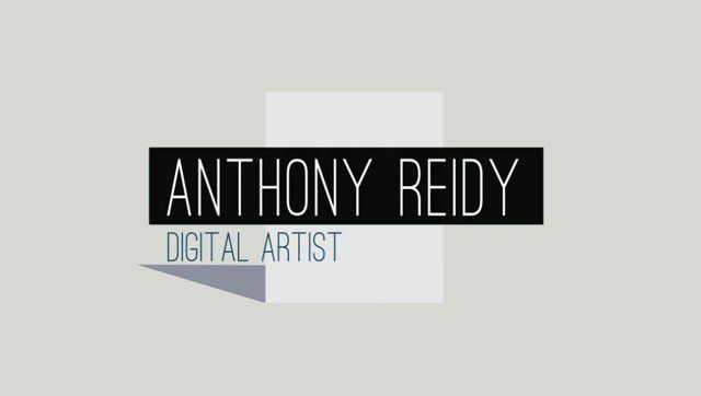 anthony reidy digital art showreel motion graphics composition