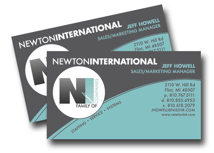 Business card design for newton international out of michigan business card design for newton international out of michigan colourmoves