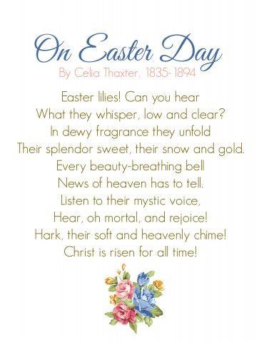 Easter Resurrection Poems 3