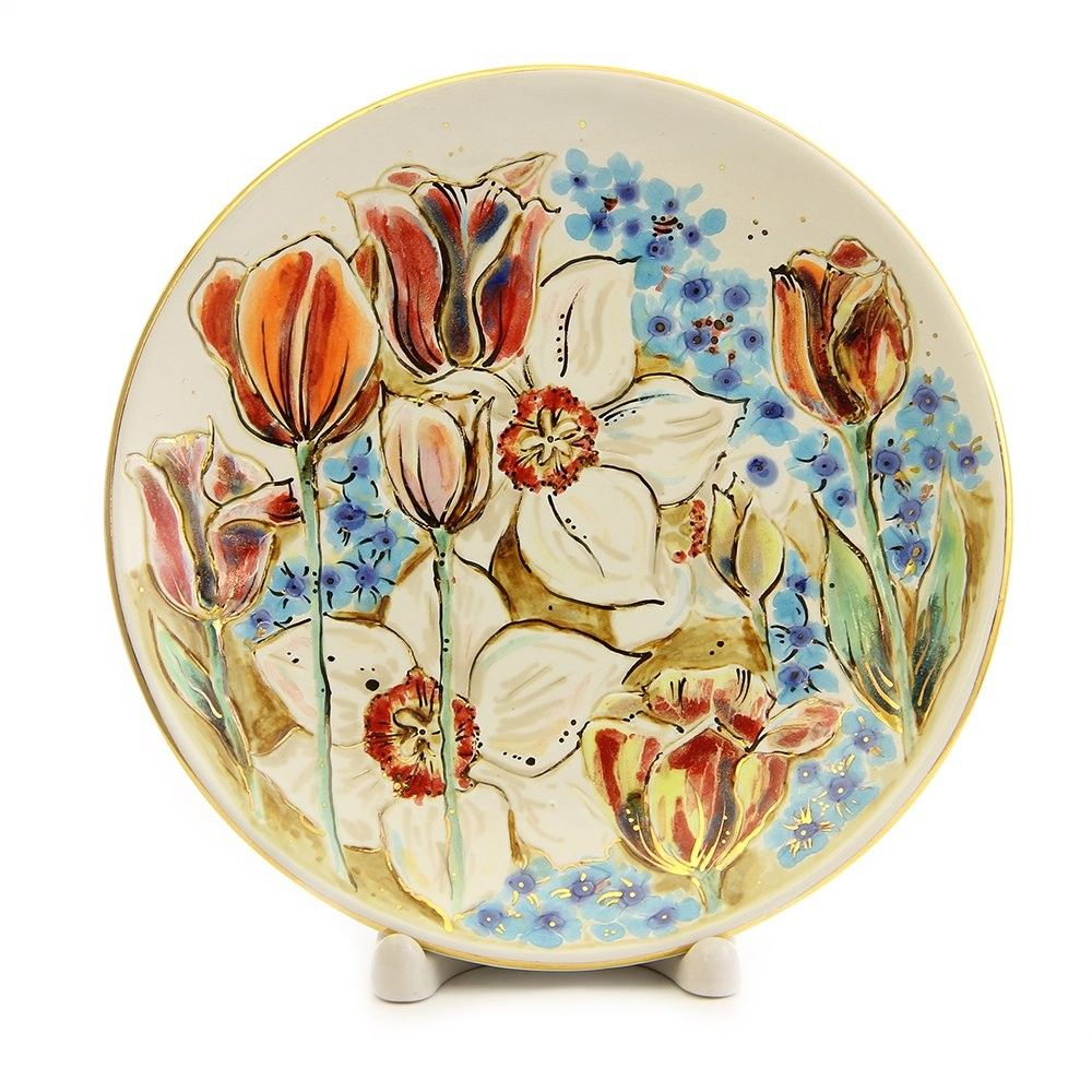 Small Decorative Ceramic Plate $55.00 This beautiful handmade masterpiece is created in our ceramic  sc 1 st  Pinterest & Small Decorative Ceramic Plate $55.00 This beautiful handmade ...