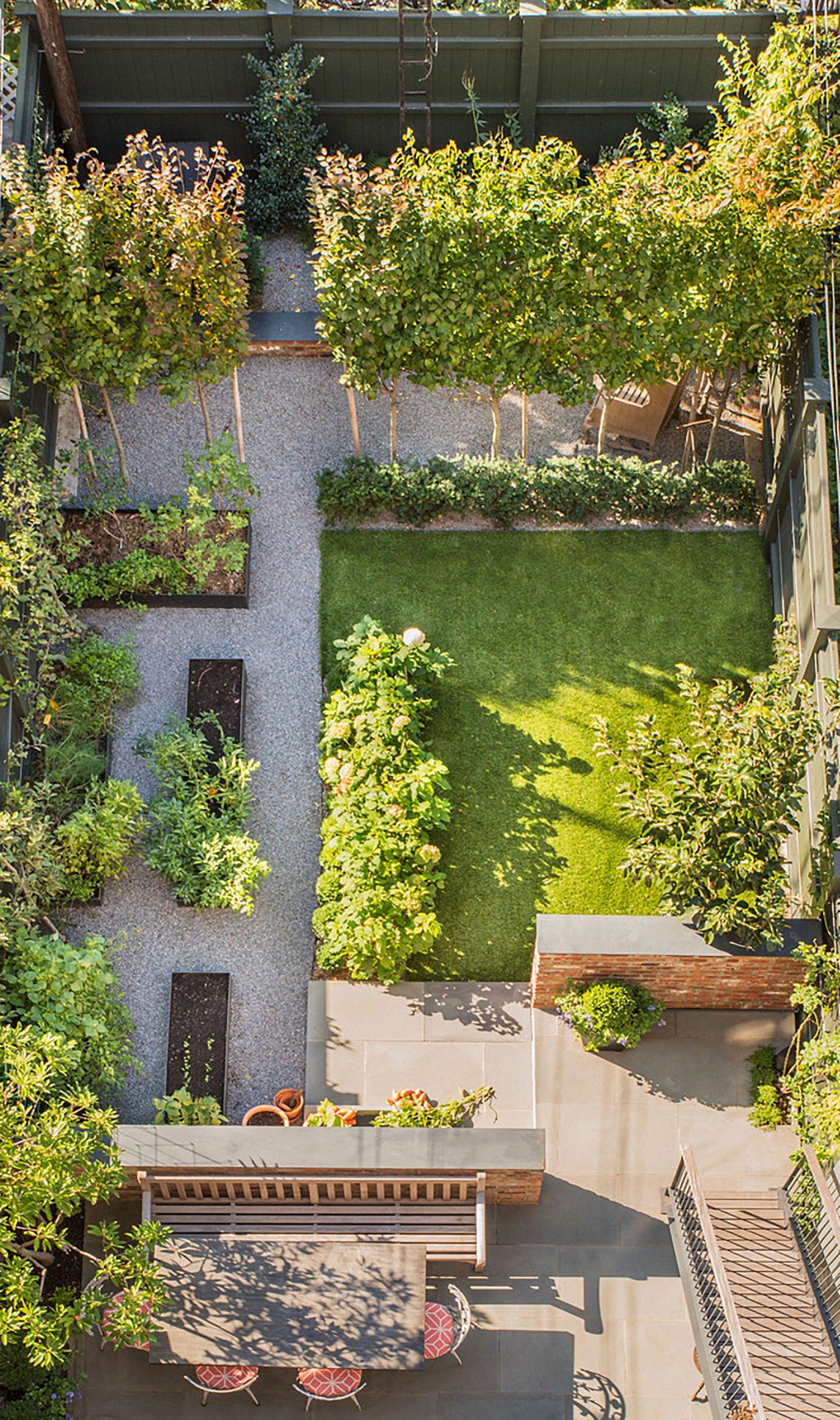 carroll gardens parterre tuinontwerp pinterest