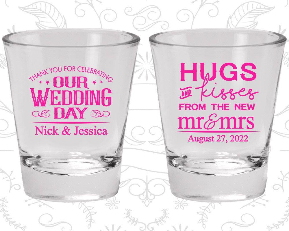 Shot Glasses, Personalized Shot Glasses, Shot Glasses Wedding, Shot ...
