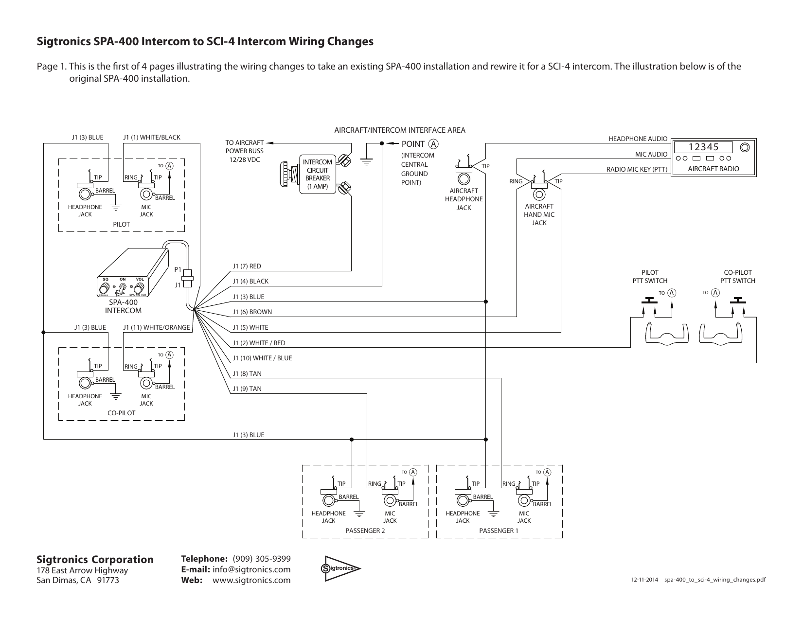 New Aircraft Headset Wiring Diagram Diagram Diagramtemplate Diagramsample