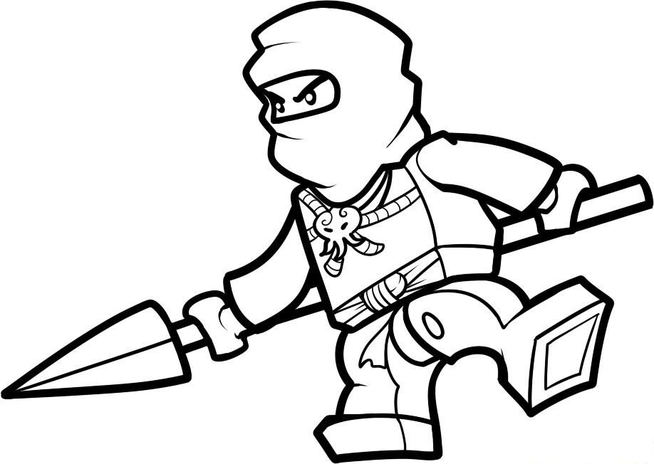 Lego Spears | Lego Coloring Pages | Pinterest