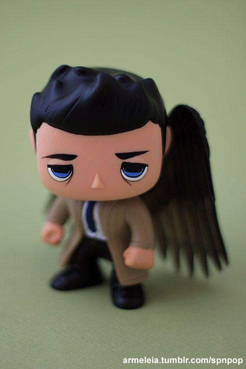 Customized winged castiel funko pop figure repainted him and added customized winged castiel funko pop figure repainted him and added a sculpted tie supernatural ccuart Gallery