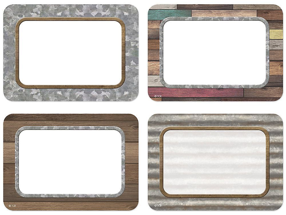 Lakeshore Home Sweet Classroom Name Tags - Variety Pack