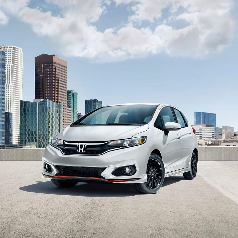 The 2018 Honda Fit is on sale now! With an available Sport
