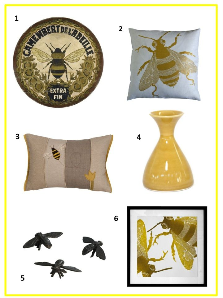 Bee Home Decor From Pure Yellow