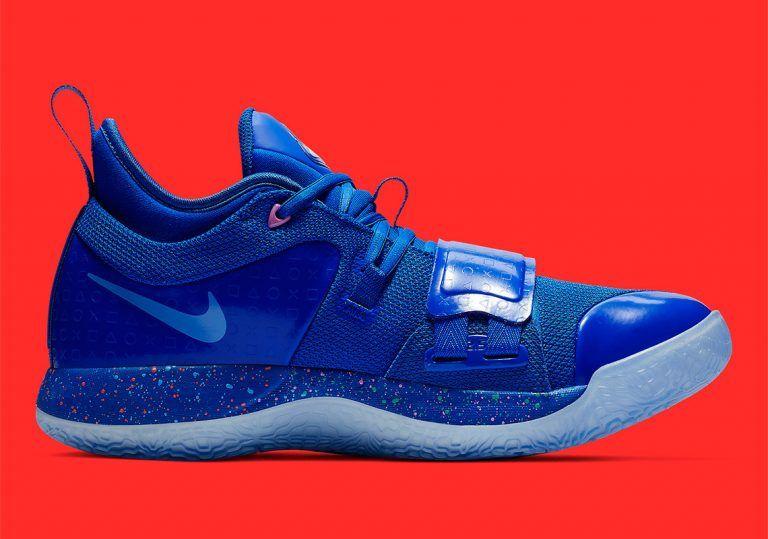 ca33df934eaa PlayStation x Nike PG 2.5 Royal Blue