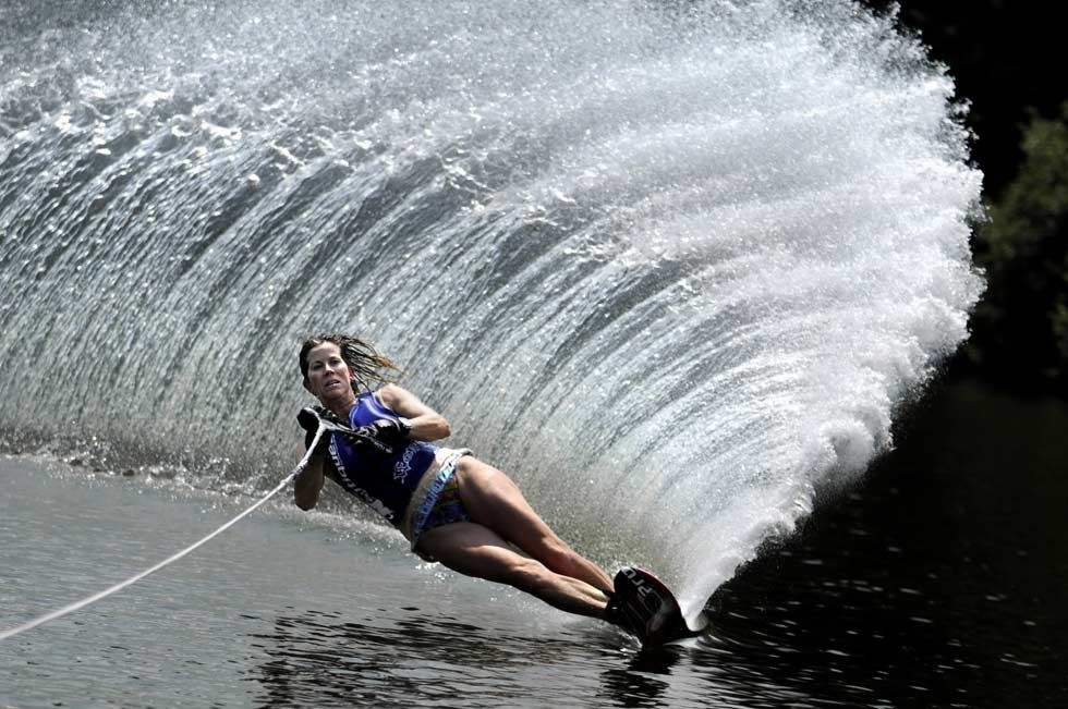 3 Learn how to water ski. I've attempted many times, but
