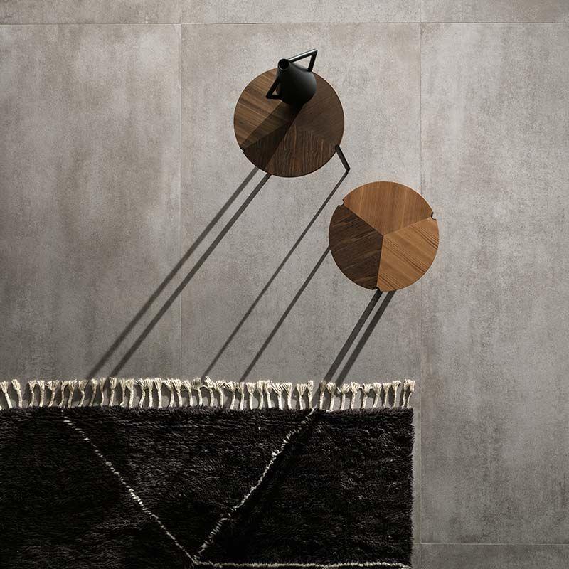 Lea Ceramiche Concreto Medium 60 x 120 cm Bodenfliese in