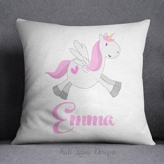 Little Girl Decorative Pillows