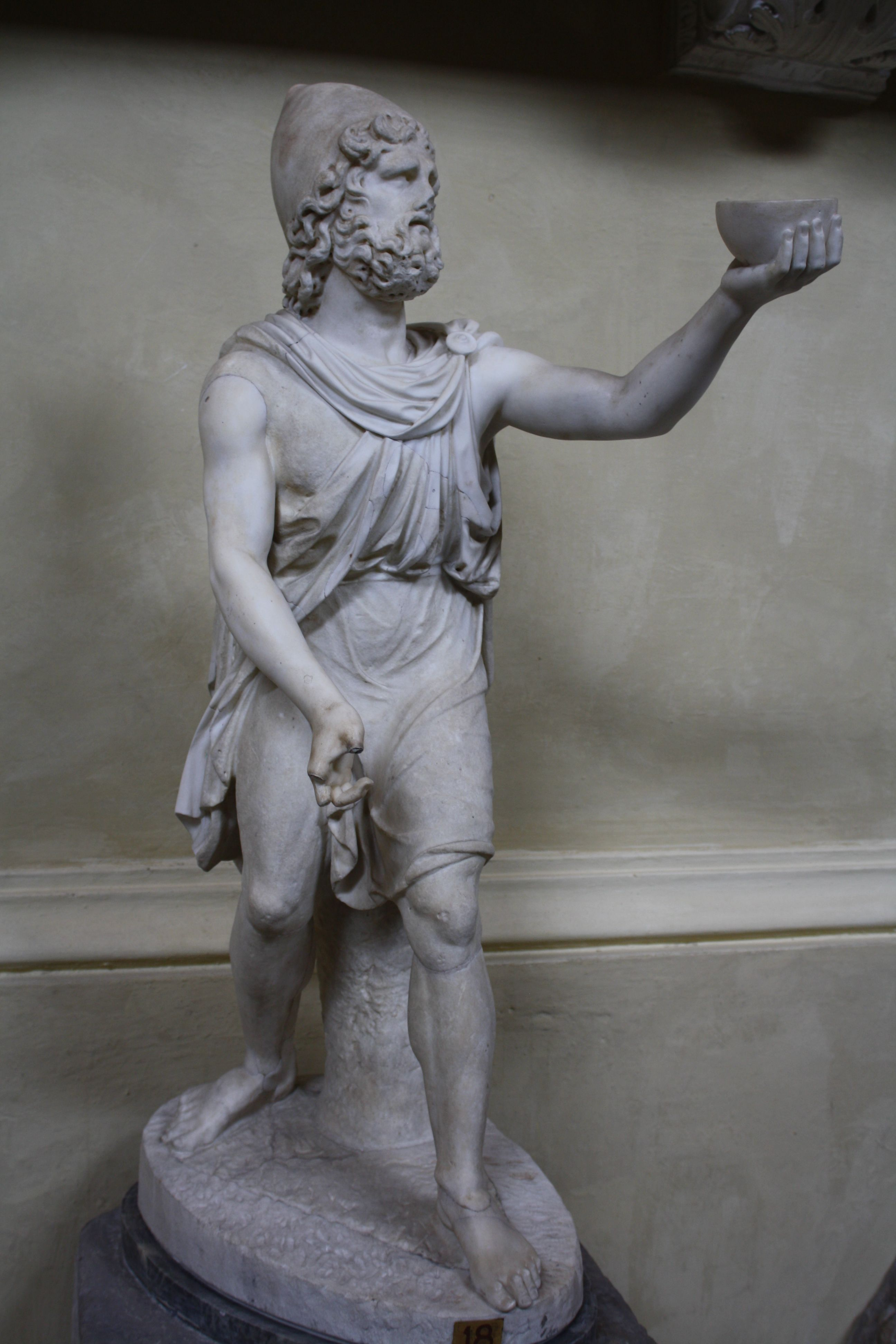 2nd Century AD) Roman Statuette of Odysseus | The Odyssey in
