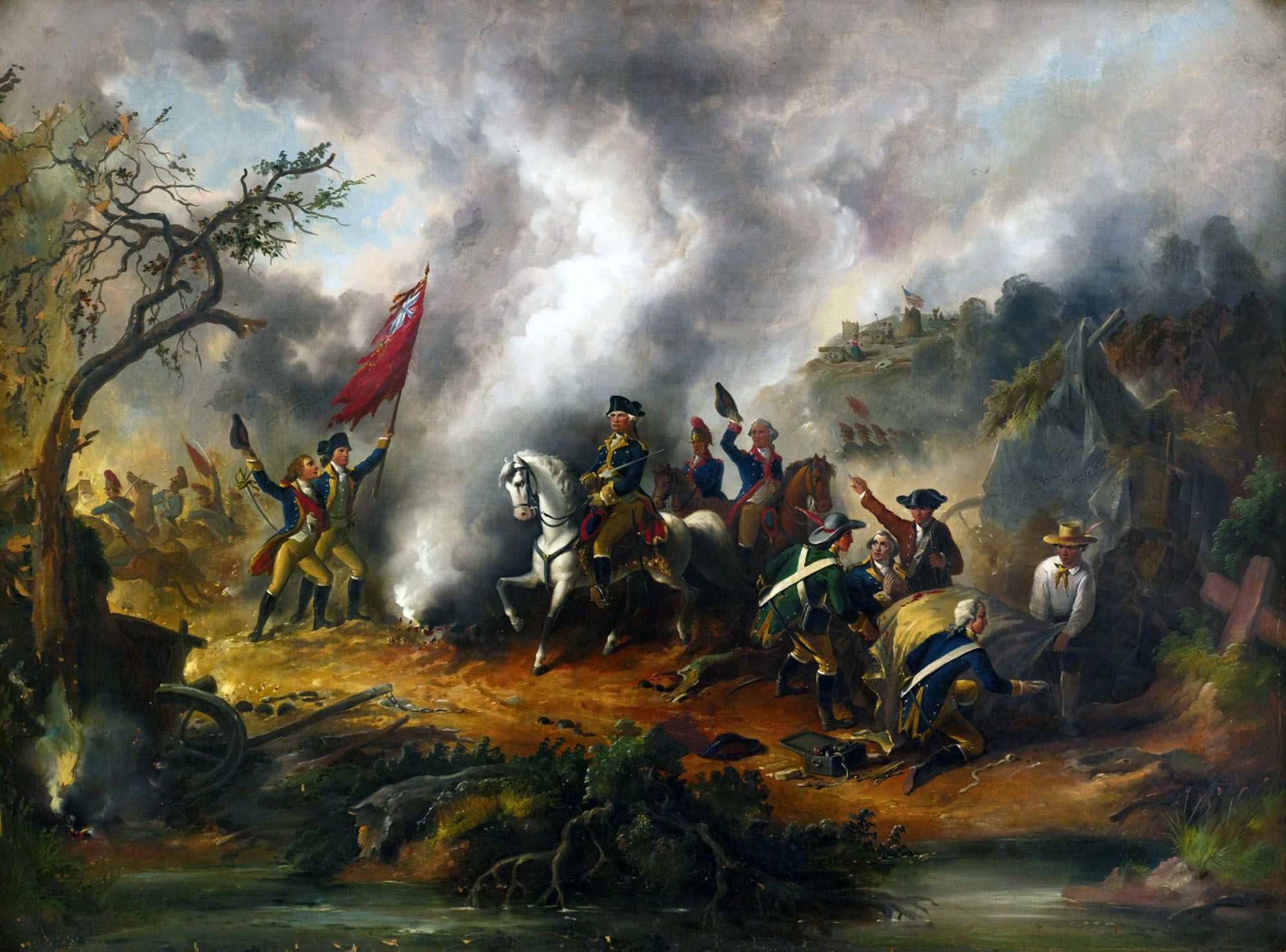 George washington resigns as commander in chief