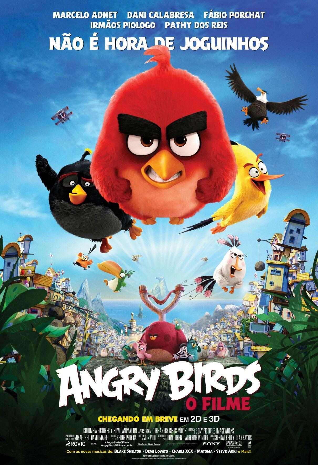 Pin De Adriana Goncalves Em Animation Movies Angry Birds Filme