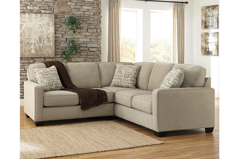 Alenya 2 Piece Sectional Ashley Furniture Sectional White