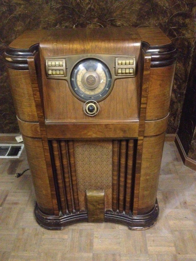 Zenith Model 5r086r Vintage Radio Turntable Vintage Radio Turntable Antique Collection