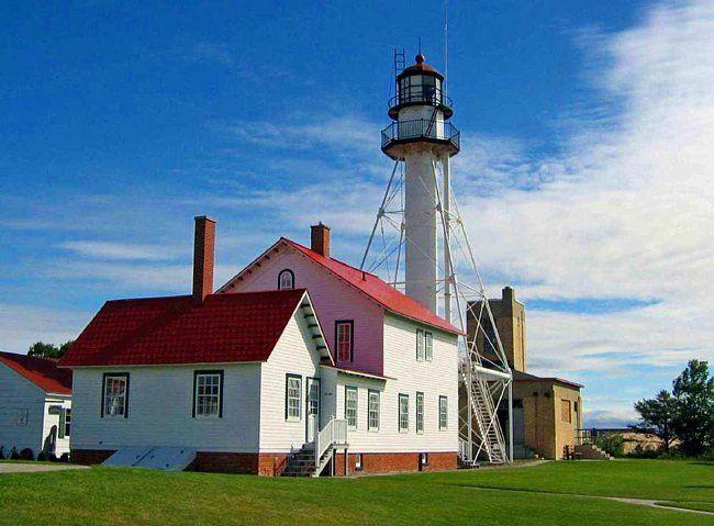 Whitefish Point Lighthouse.