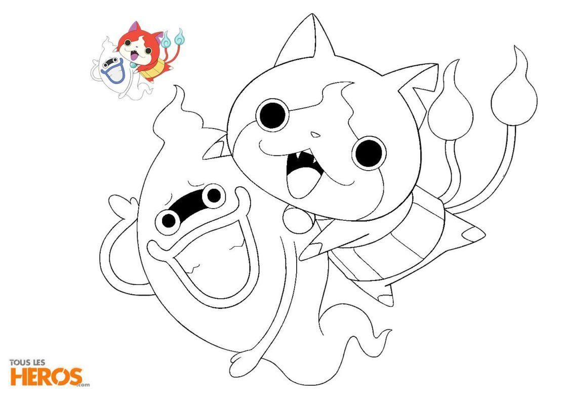Coloriages Yo Kai Watch Coloriez Jibanyan Et Whisper Mandala Coloring Pages Outline Drawings Mandala Coloring