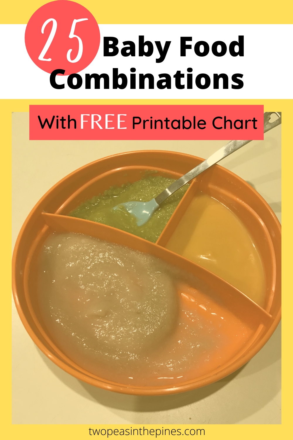 Baby Food Combinations With Free Printable Chart Baby Food Chart Baby Food Combinations Baby Food Recipes