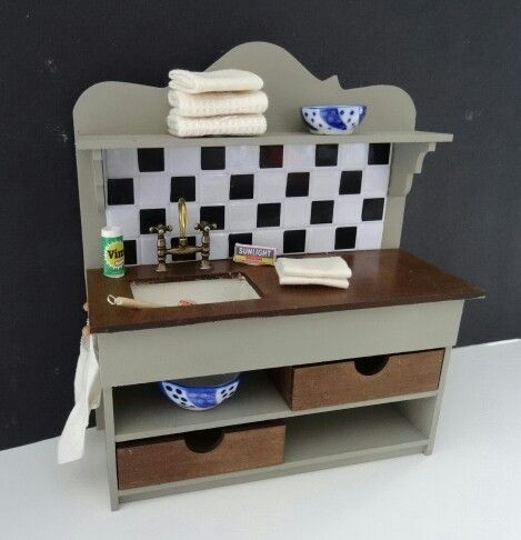 Workshop Kitchen sink made out of a kit by Jacomini's