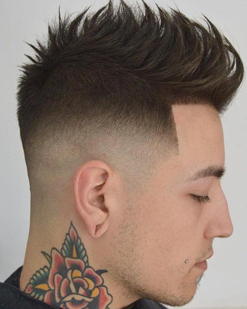 Mohawk Fade Haircut 2019 For Men S Mohawk Hair Fade Haircut