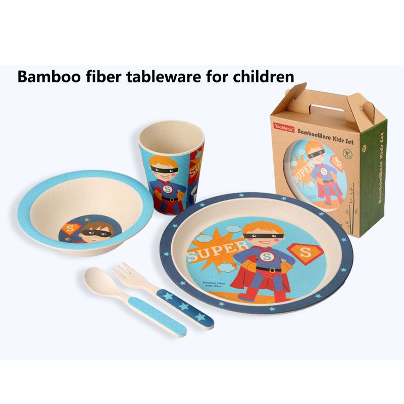 Plate Bowl Cup Fork Spoon Baby Kids