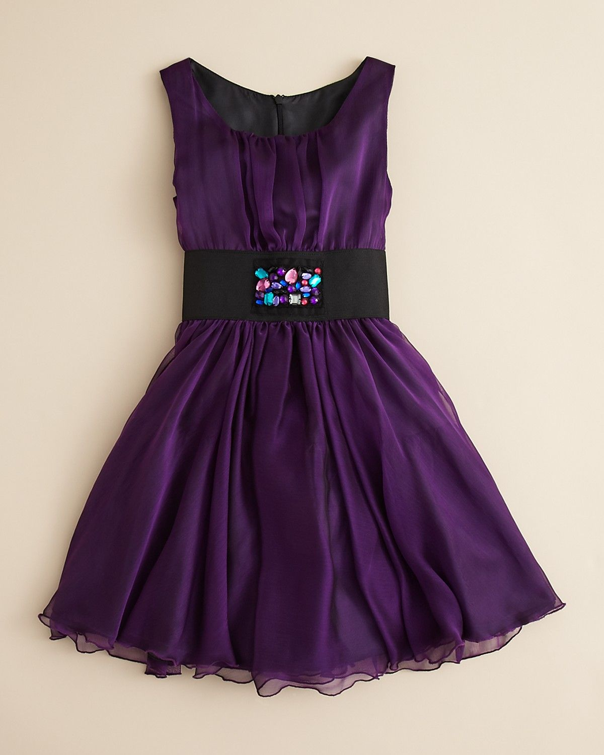 girl dresses 7-16 | by Zoe Girls' Chiffon Jeweled Dress - Sizes 7 ...
