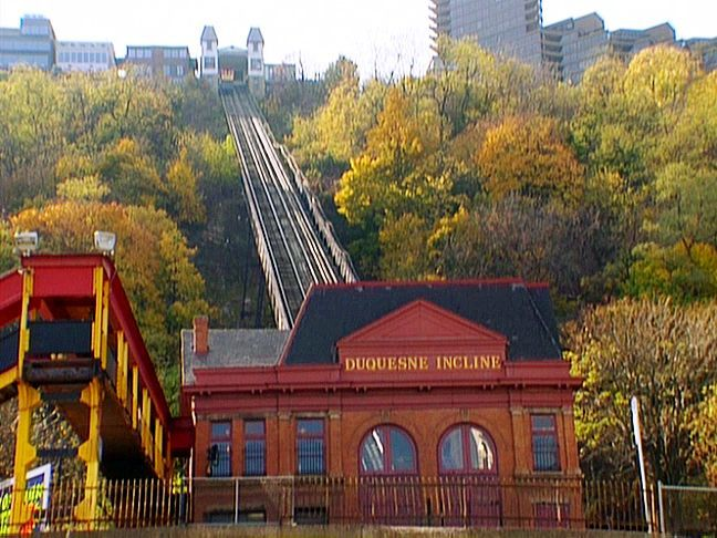 Mount Washington Pittsburgh Incline Restaurant Up On Mt Overlooking The City Of