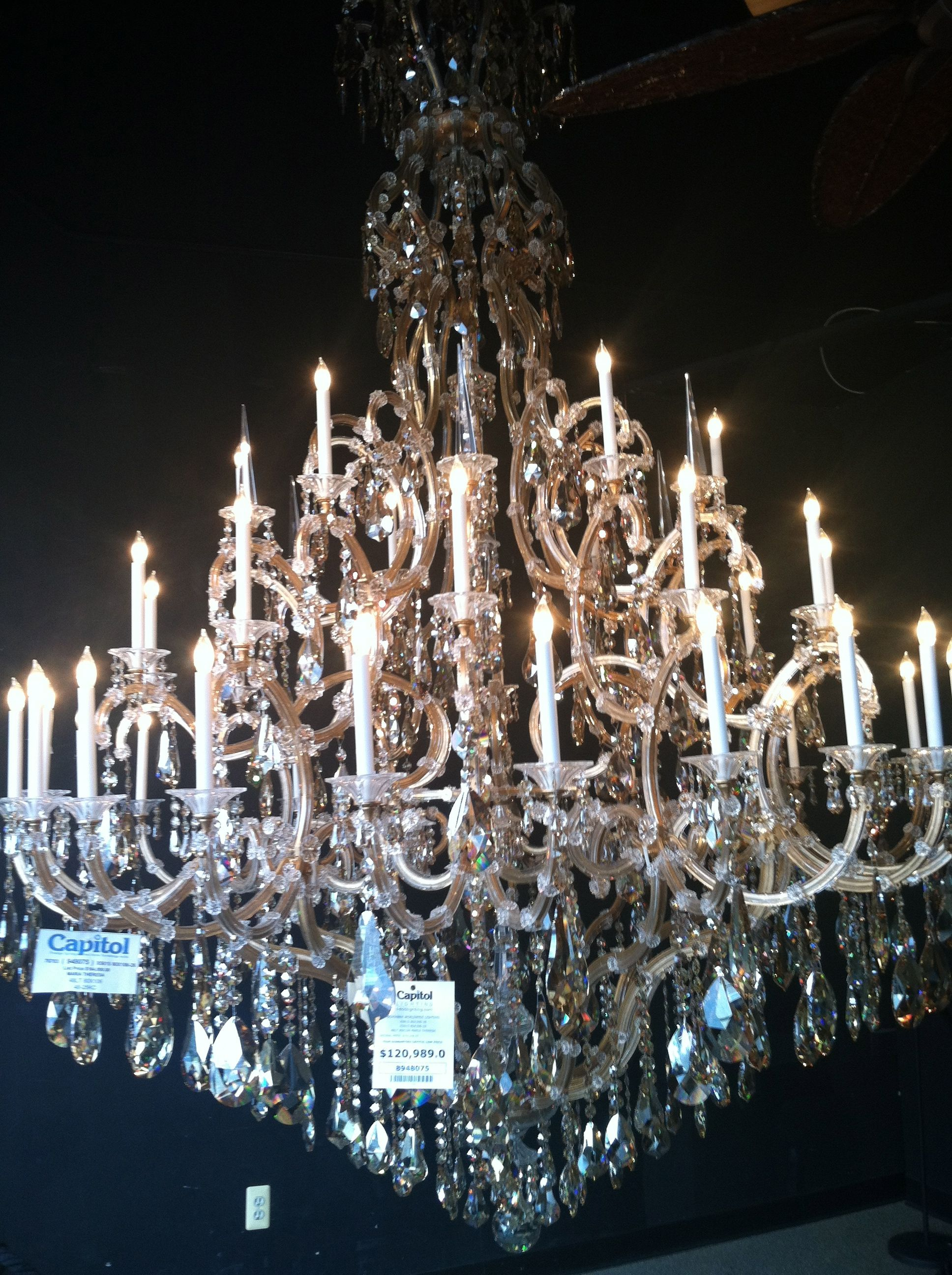 The Biggest And Most Expensive Chandelier I Ve Ever Seen Chandelier Decor Home Decor