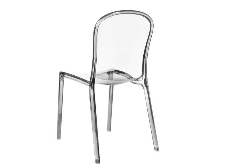 Chaise Design En Plexi Transparent VITO