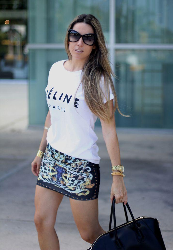 Barroco falda Mes Voyages à Paris Fashion Blog