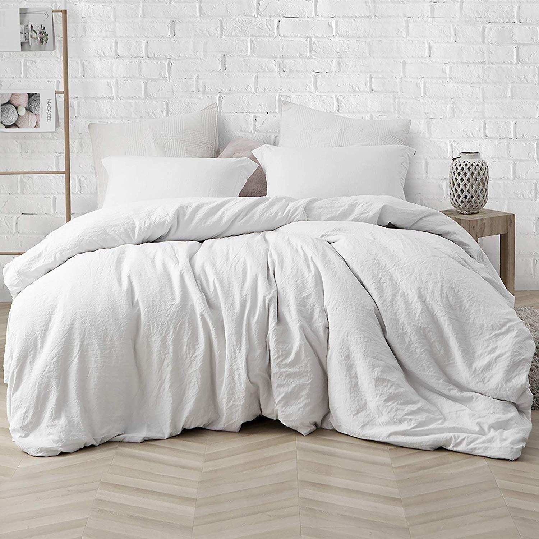 Porch Den Arlinridge Farmhouse White Comforter Twin Xl White Comforter Bedroom White Comforter Comfortable Bedroom