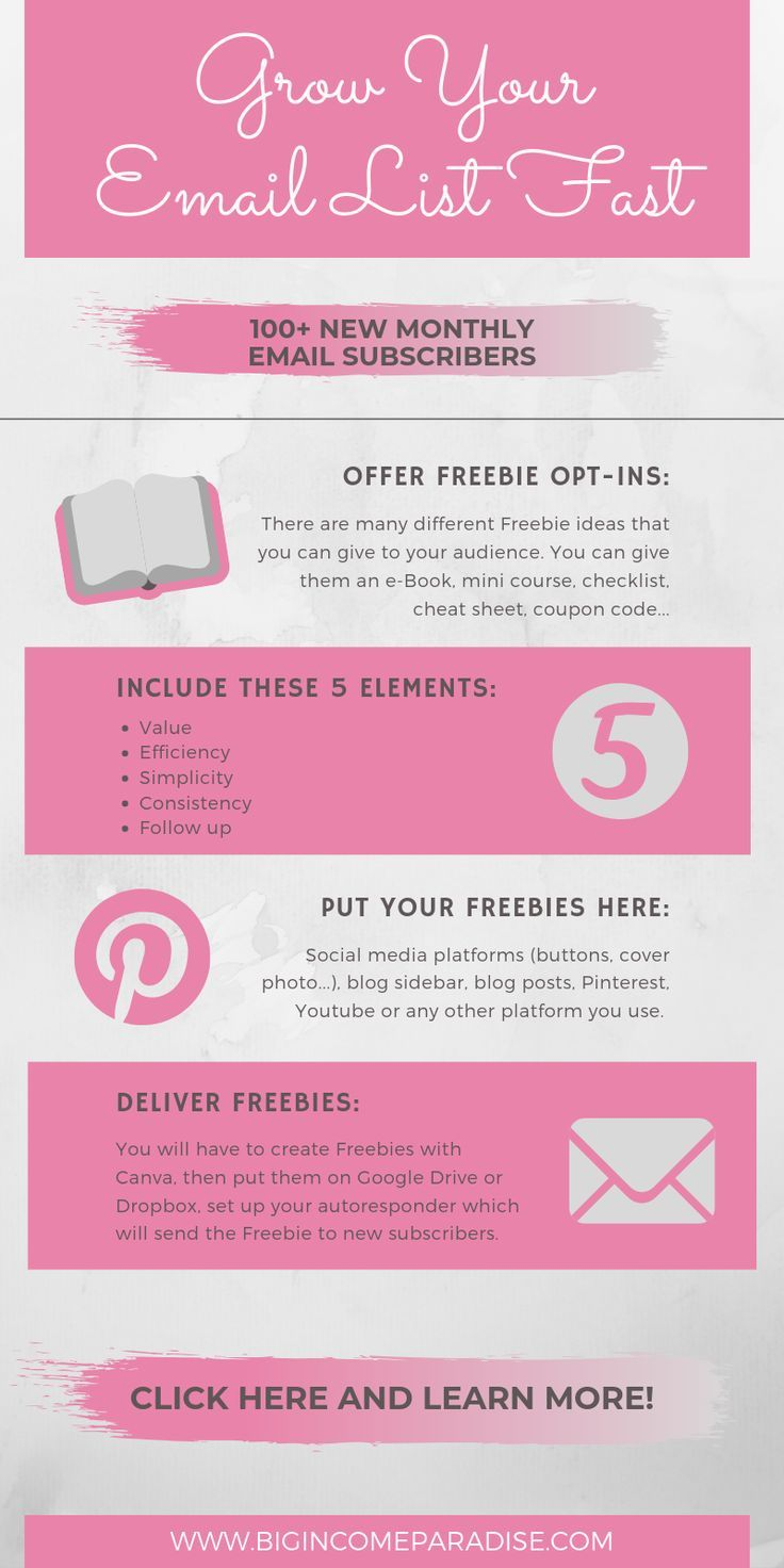 Grow Your Email Checklist: 10 Awesome Blog Opt-In Freebie Ideas