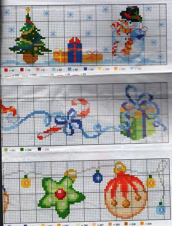 Point de croix *♥*Cross stitch Christmas