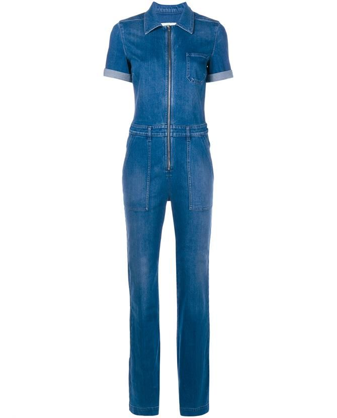 d11b85802617 STELLA MCCARTNEY Stretch Denim Jumpsuit.  stellamccartney  cloth ...