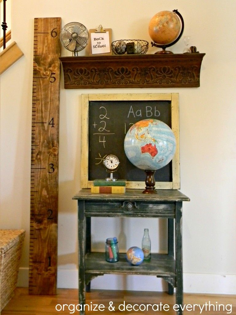 Back to school decorating 4 1 decorating pinterest for Back to school decoration ideas