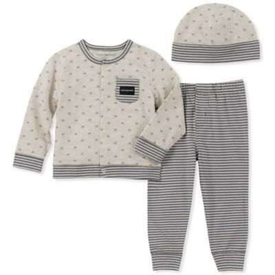 Essentials Baby Strickjacke 3-teilig