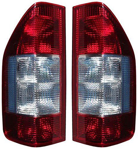 Dodge Sprinter Freightliner 19952006 Pair Of Tail Lights Rear Lamps Red Clear Click Image For More Details This Is An A Tail Light Freightliner Car Lights