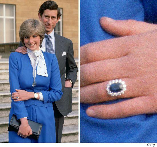 Prince charles wedding rings