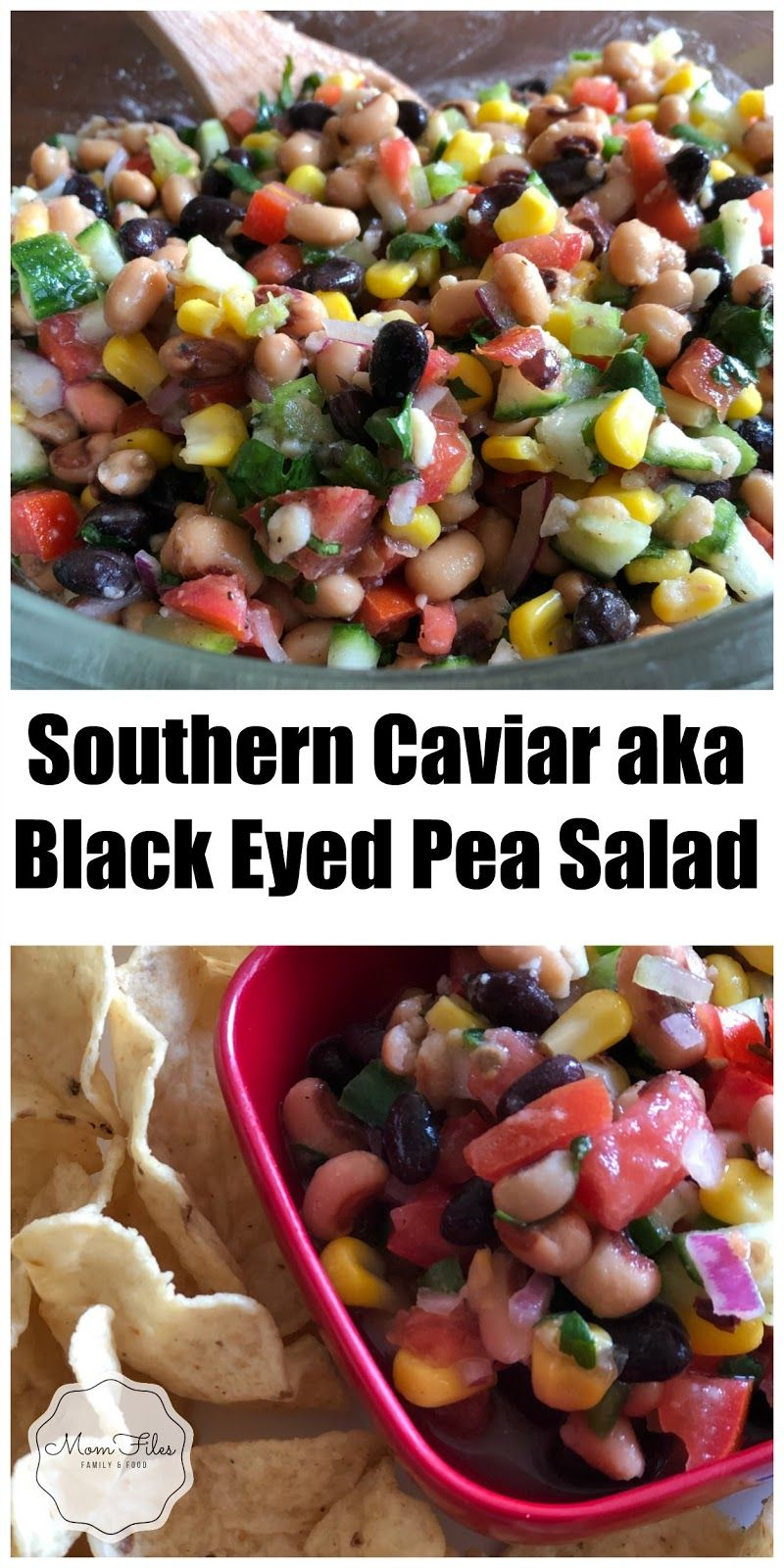 Southern Caviar aka Black Eyed Pea Salad Recipe