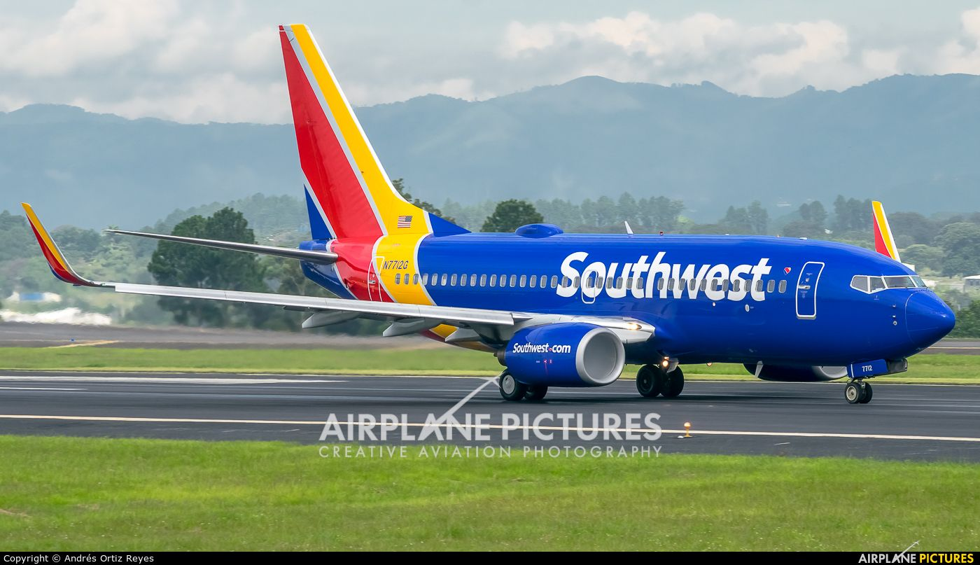 Southwest Airlines 737 700 Photo Taken By Andres Ortiz Reyes Southwest Airlines Boeing Southwest