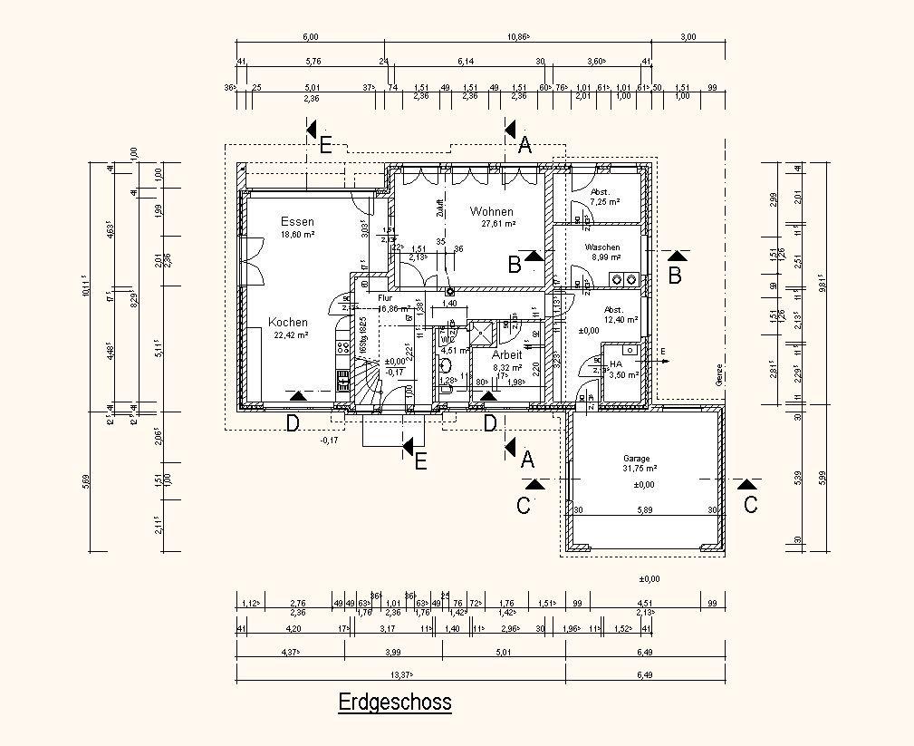 Einfamilienhauser Einfamilienhaus Mit Garage 213m Ford Ranger Diagram Chevy Trailblazer