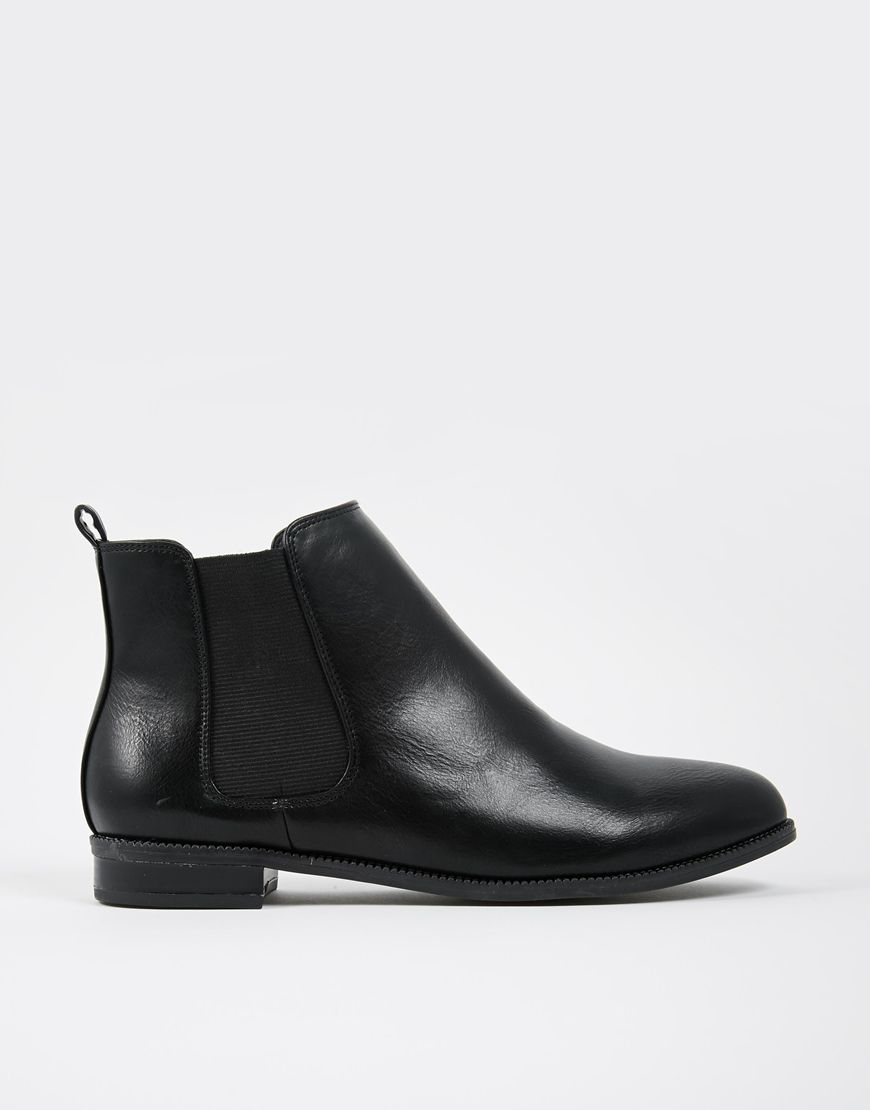 Buy Women Shoes / Daisy Street Black Cheska Chelsea Boots