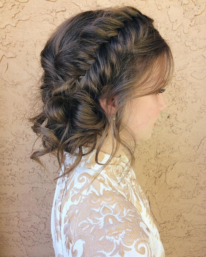 Wedding New Hair Style: Romantic Wedding Hairstyles For
