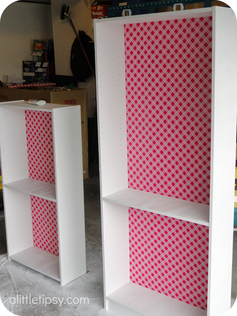 A Little Tipsy: DIY bookshelf | Home Projects: Living Room Projects ...