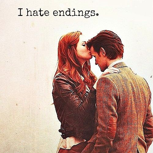 'I always rip out the last page of a book then it doesn't have to end.'  Fandom inspired playlist, this is too awesome!
