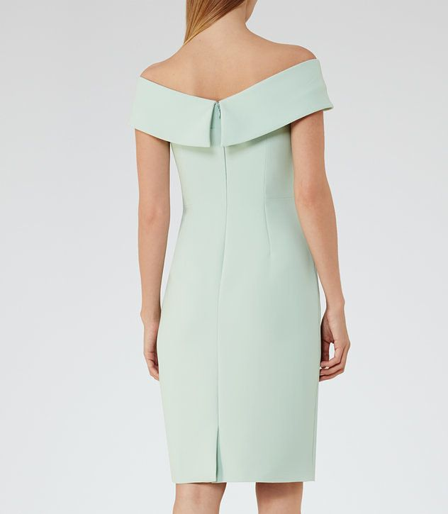 REISS - HADDI OFF-THE-SHOULDER DRESS | Dress#1 | Pinterest